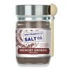 Smoked Hickorywood Salt 8 oz. Chef's Jar - San Francisco Salt Company