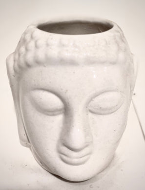 Meditating Buddha Ceramic Planter