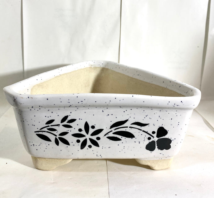Triangle Bonsai Pot