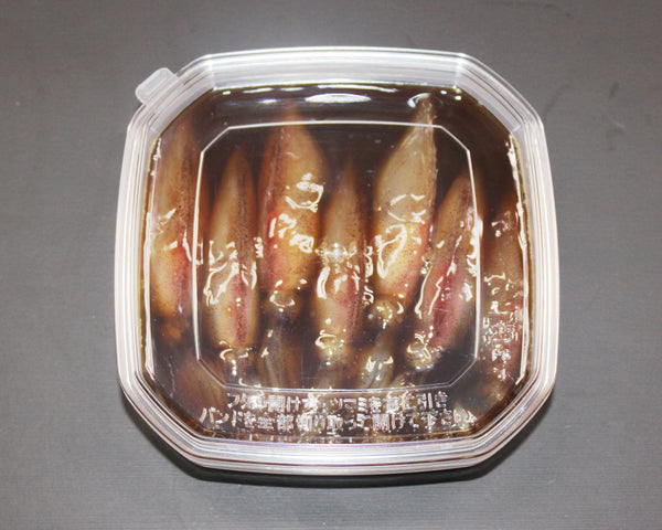Firefly squid with Okitsuke sauce (Salted squid/Soy marinated)