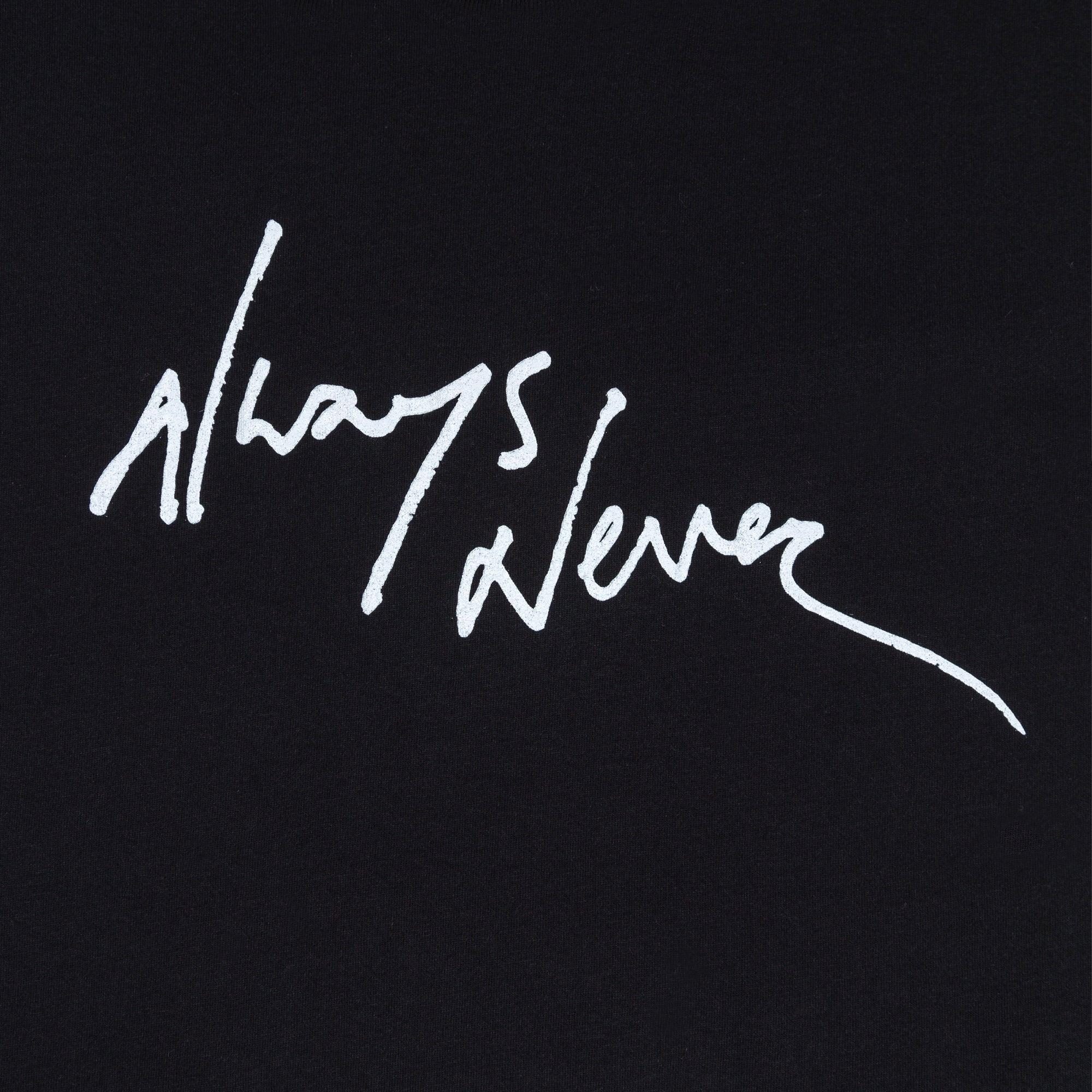 Always Never Logo Tee