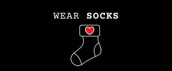 Socks: can't live without them
