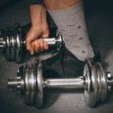 Fitness Motivation Socks - merged grey