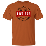 UNCLE WILLY'S SKIP-N-GO NAKED SCUBA DIVING T-SHIRT