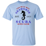 THE WILD WET SEAHORSE SCUBA T-SHIRT