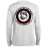 Salty Dawg Scuba Club Fishing Spor-Tek Moisture Absorbing Long Sleeve T-Shirt