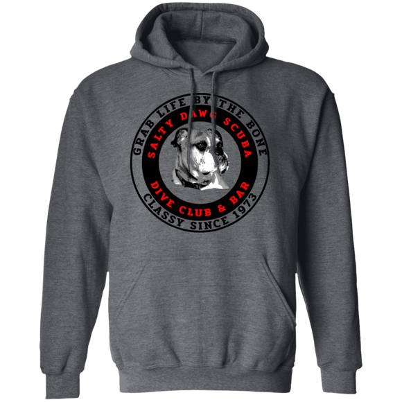Salty Dawg Scuba Club Scuba Diving Pullover Hoodie Sweat Shirt