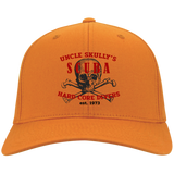 UNCLE SKULLY'S HARD CORE SCUBA FLEX FIT BALL CAP