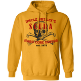 Uncle Skully's Hard Core Divers Scuba Diving Pullover Hoodie Sweat Shirt