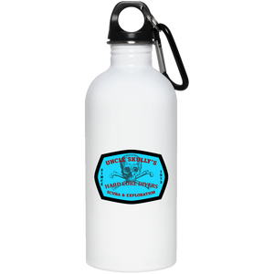 UNCLE SKULLY'S HARD CORE DIVERS STAINLESS STEEL WATER BOTTLE