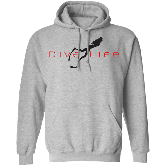Ladies Dive Life Pullover Hoodie Sweat Shirt