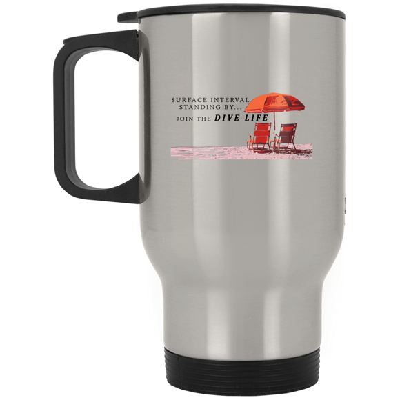 JOIN THE DIVE LIFE SCUBA DIVING TRAVEL MUG