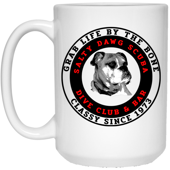SALTY DAWG SCUBA DIVE COFFEE MUG