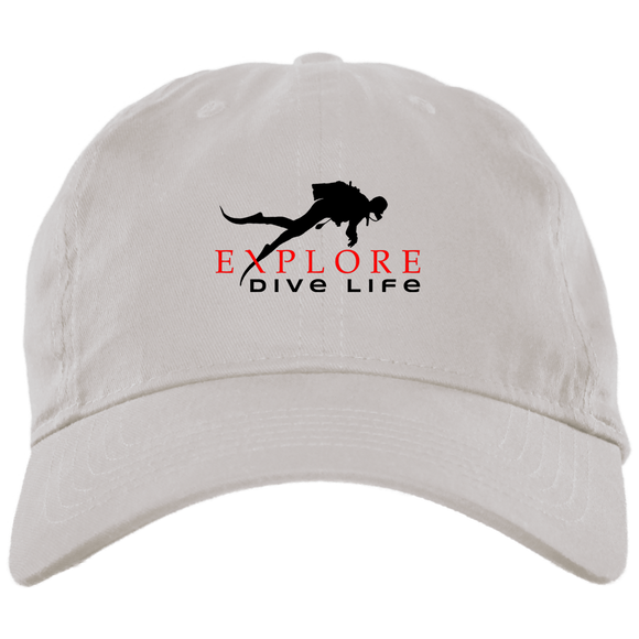 EXPLORE DIVE LIFE ORIGINAL SCUBA DIVING DAD CAP
