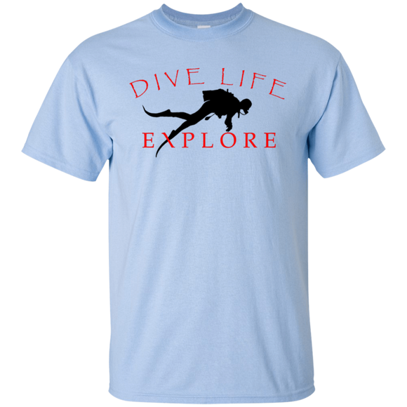 DIVE LIFE SCUBA DIVING T-SHIRT