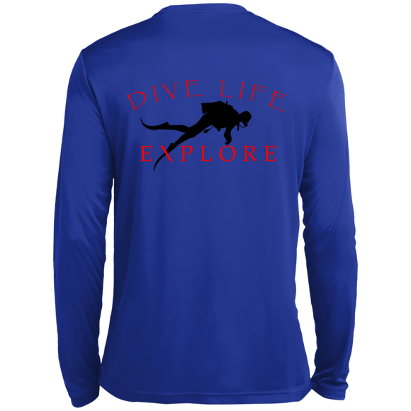 MEN'S EXPLORE DIVE LIFE FISHING Scuba Diving T-Shirt