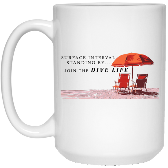 JOIN THE DIVE LIFE COFFEE MUG