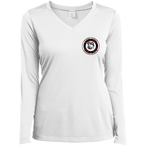 LST353LS Ladies' LS Performance V-Neck T-Shirt