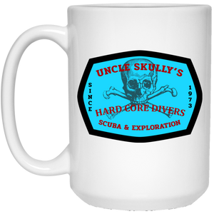 UNCLE SKULLY'S SECOND BEST HARD CORE DIVERS COFFEE MUG