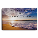 INSPIRATIONAL OCEAN BEACH LANDSCAPE WALL ART