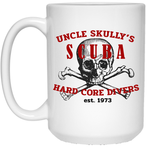 UNCLE SKULLY'S SCUBA DIVING COFFEE MUG