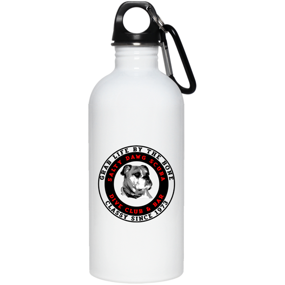 SALTY DAWG SCUBA DIVING STAINLESS STEEL WATER BOTTLE