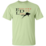 EXPLORE DIVE LIFE SCUBA DIVING T-SHIRT