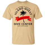 ISLAND QUEST DIVE CENTER ORIGINAL SCUBA DIVING T-SHIRT
