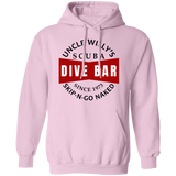 Uncle Willy's Dive Bar Pullover Hoodie Sweat Shirt