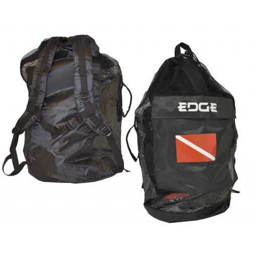 EDGE Mesh Back Pack Dive Bag