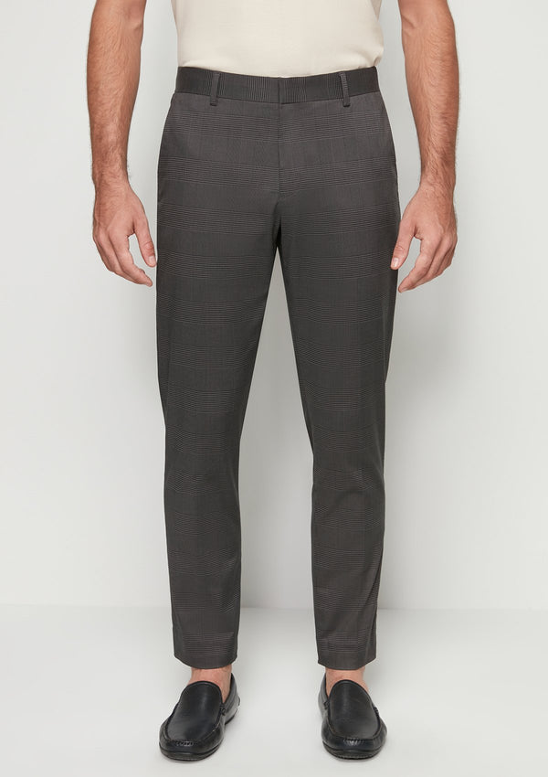 CHECKED TROUSER PANTS