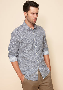 LONG-SLEEVED PRINTED SHIRT