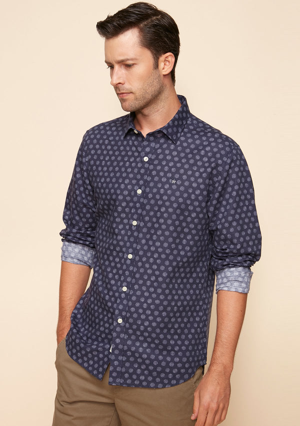 DOT PRINTED SHIRT