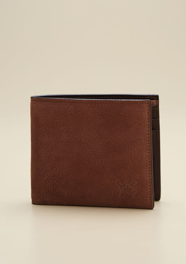 BIFOLD GRAIN LEATHER WALLET