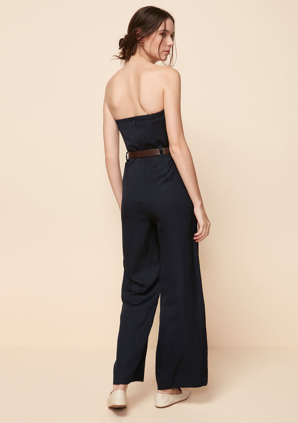 REMOVABLE STRAP JUMPSUIT