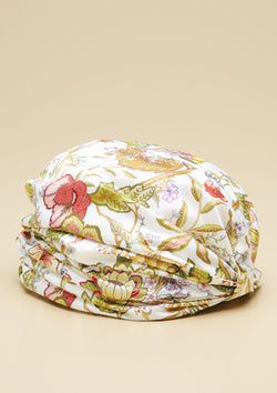 SUMMER FOREST PRINTED TURBAN