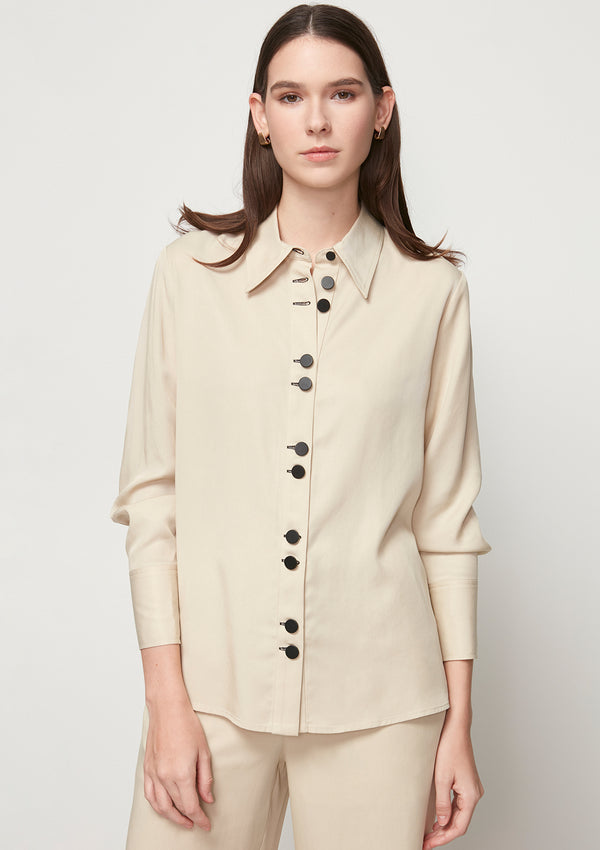 LONG-SLEEVED SEMI-FORMAL SHIRT