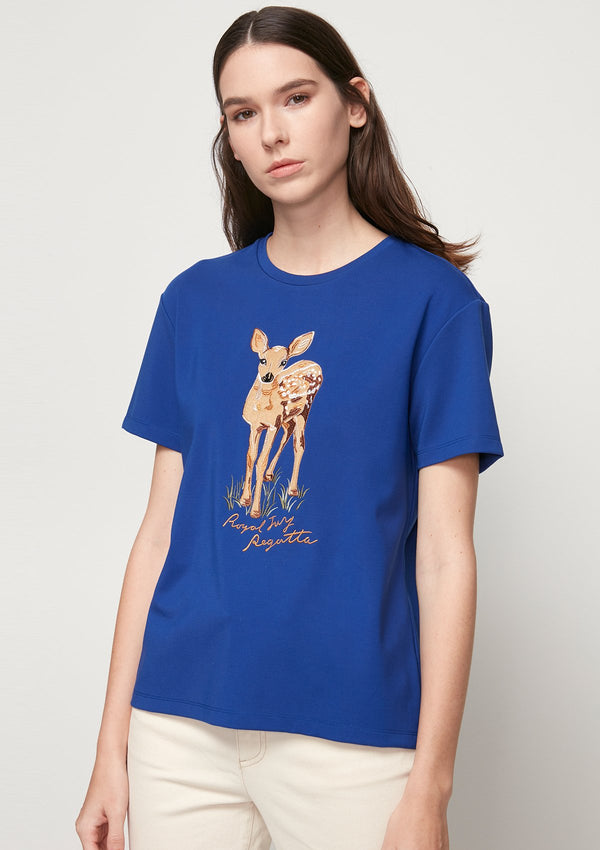 CHARMING DEER GRAPHIC DETAIL