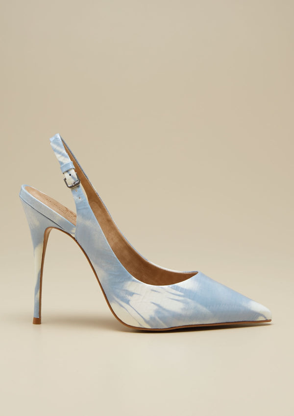 SLINGBACK HIGH HEEL SHOES