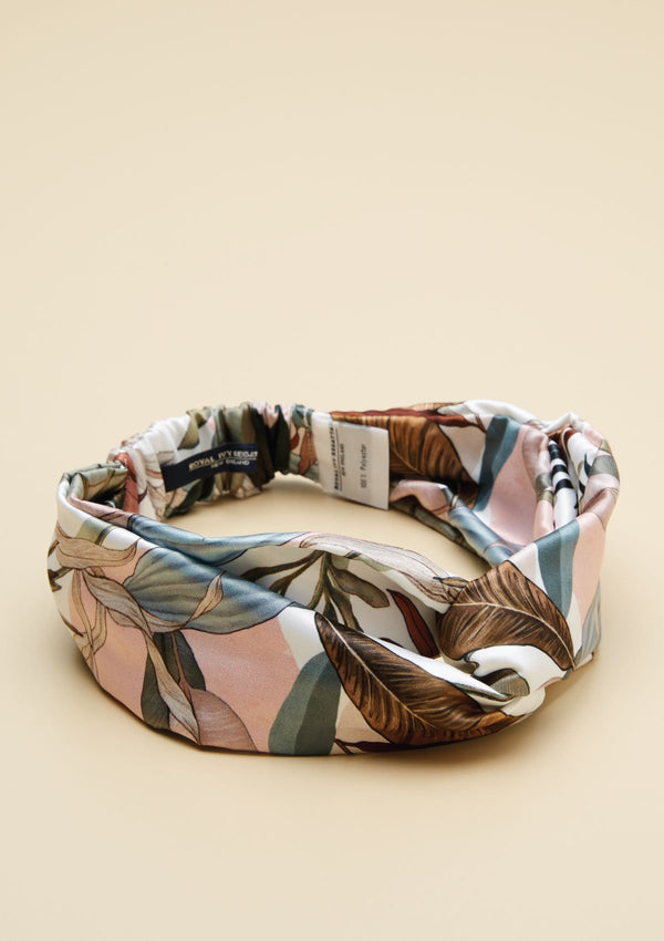 TROPICAL PRINTED HEADBAND