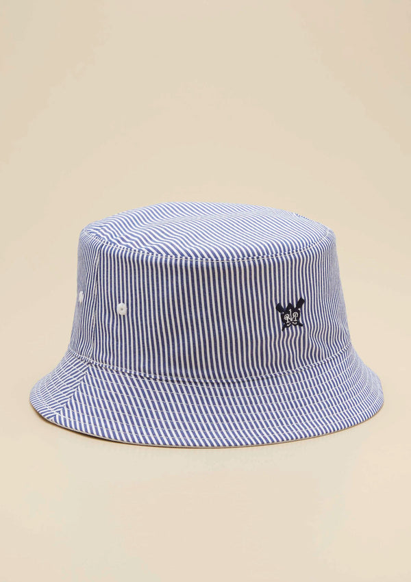 REVERSIBLE LOGO BUCKET HAT