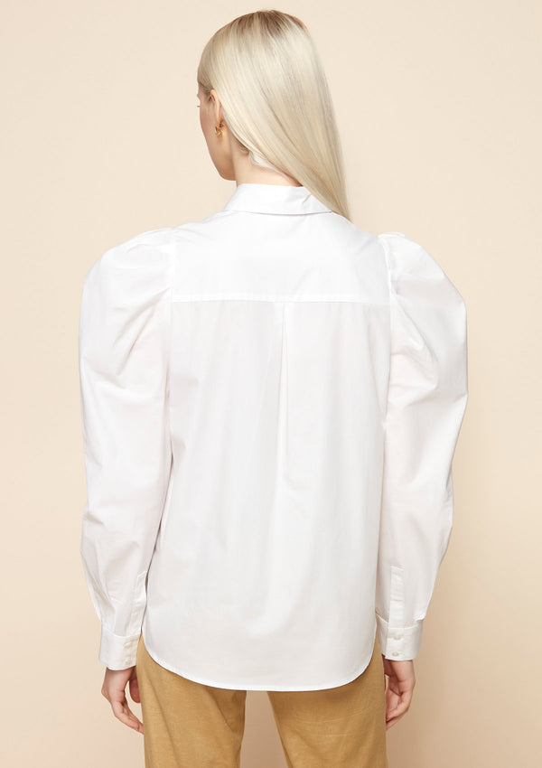 LONG VOLUME-SLEEVED SHIRT