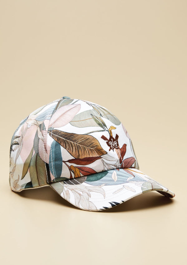 TROPICAL PRINTED CAP