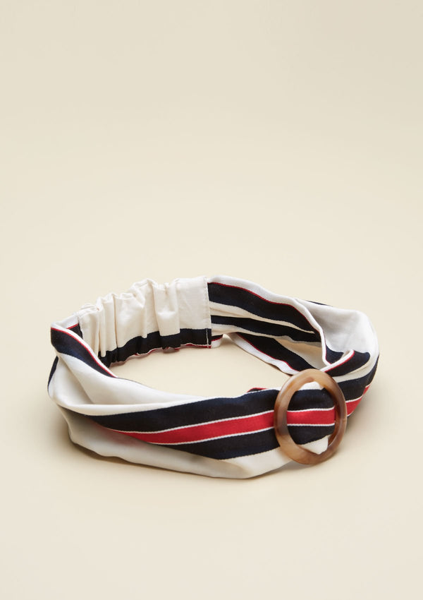 STRIPE PRINTED HEADBAND