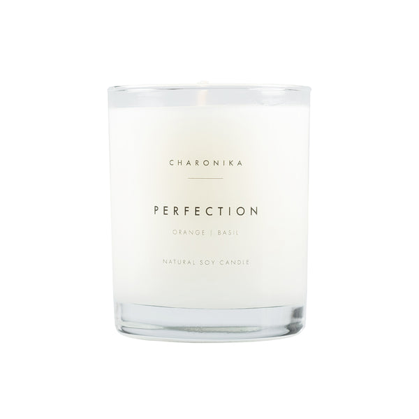CHARONIKA NATURAL SOY CANDLE PERFECTION