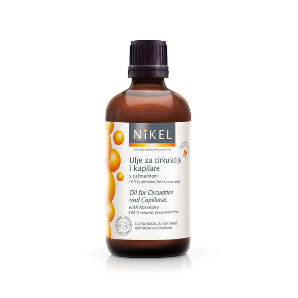 NIKEL OIL FOR CIRCULATION AND CAPILLARES