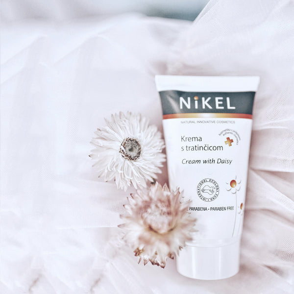 NIKEL CREAM WITH DAISY
