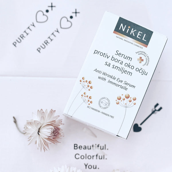 NIKEL ANTI-WRINKLE EYE SERUM WITH IMMORTELLE