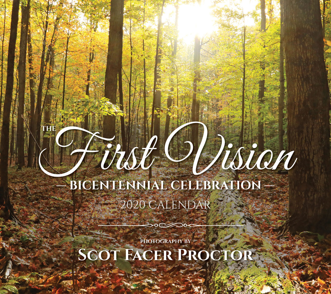 The First Vision: Bicentennial Celebration 2020 Calendar