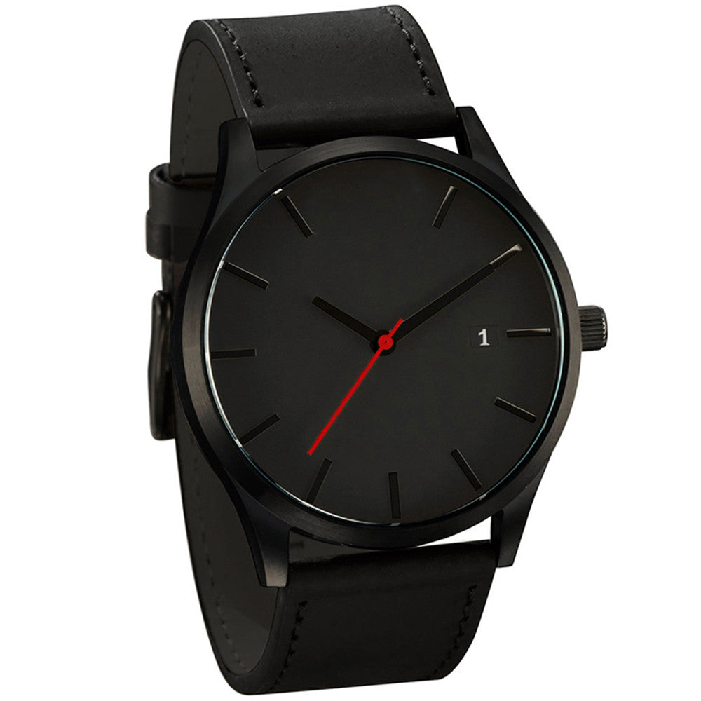 Lux Leather Watch